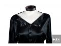 Vestido Negro Satinado Georges Rech