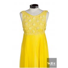 Vestido Amarillo Nina Ricci